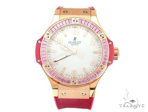Hublot Big Bang Quartz Gold Tutti Frutti 38mm 43082 Special Watches