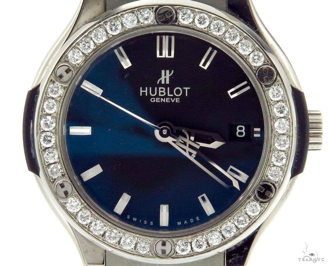 Hublot Diamond Classic Fusion Titanium 36mm 43087 Hublot