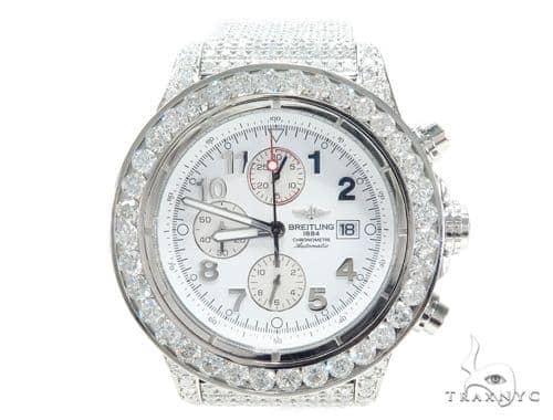 Breitling Super Avenger Fully Diamond Watch 42800 Breitling