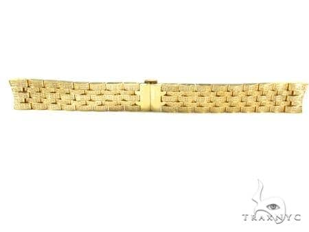 Joe Rodeo Yellow Stainless Steel Band 20mm Fully Iced  43339 Watch Accessories