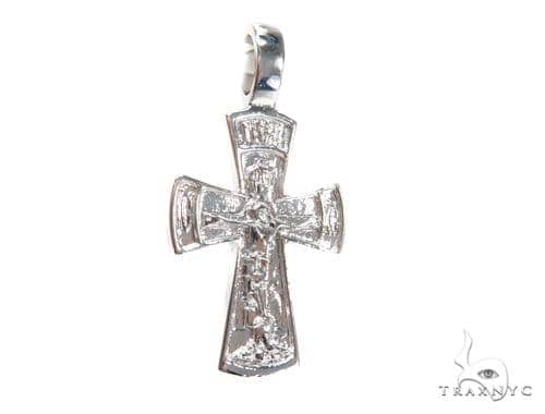 Holy Silver Cross 43342 Silver