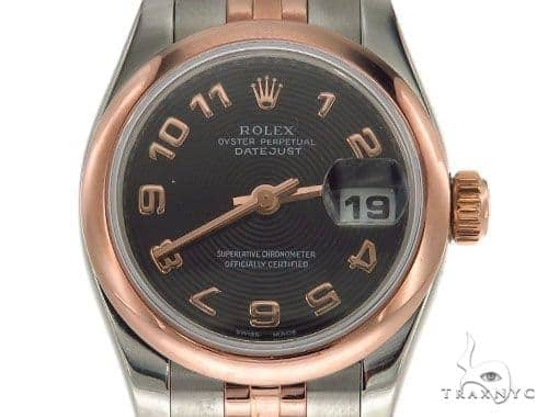 Rolex Datejust Rose Gold and Steel 179161 Rolex Collection
