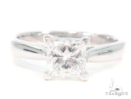 Prong Princess Diamond Engagement Ring 44607 Engagement