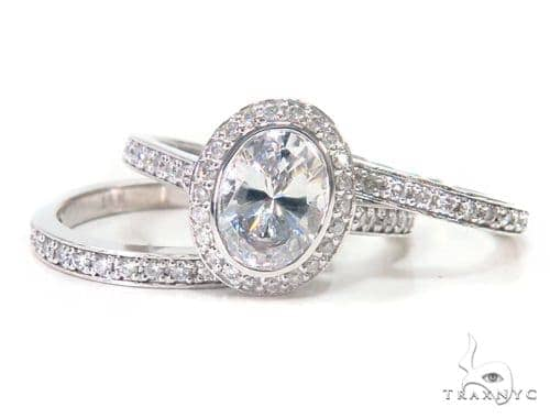 Imperial Prong Diamond Ring Set 44604 Engagement