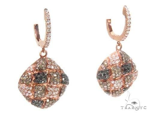 Prong Diamond Earrings 44730 Stone
