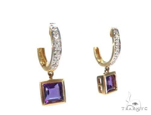 Gemstone Diamond Earrings 44750 Stone