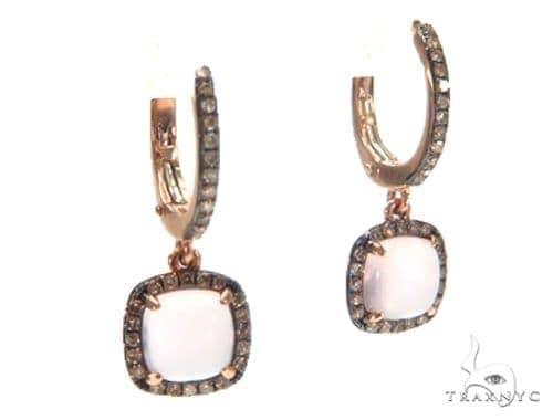 Gemstone Diamond Earrings 44752 Stone