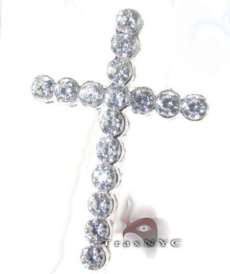Iced Bezel Cross Style