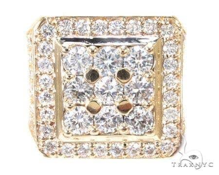 Freeze 10k Yellow Gold Premiere Ring Stone