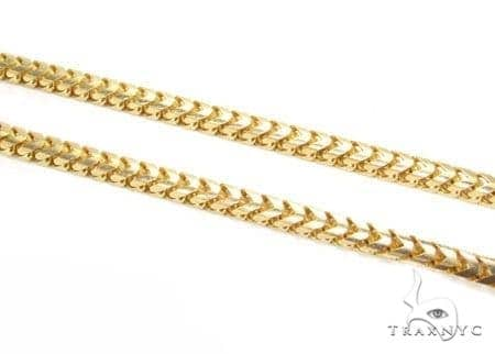 mens buy gold link yellow detail chains cuban solid product chain
