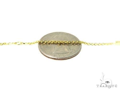 18k Yellow Gold Cross Bracelet 49004 Gold