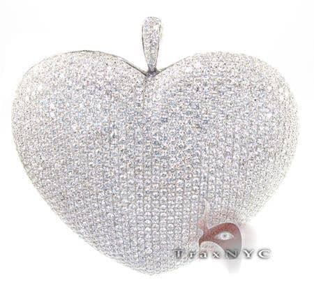 Bubble Heart Pendant Stone