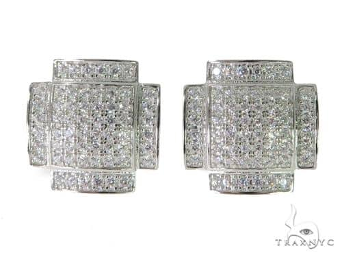 Silver Earrings 49881 Metal