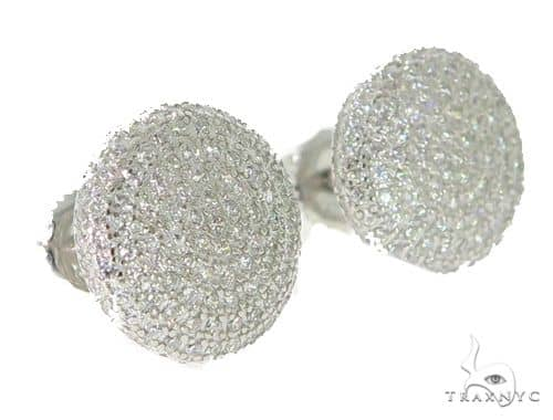 Silver Earrings 49893 Metal