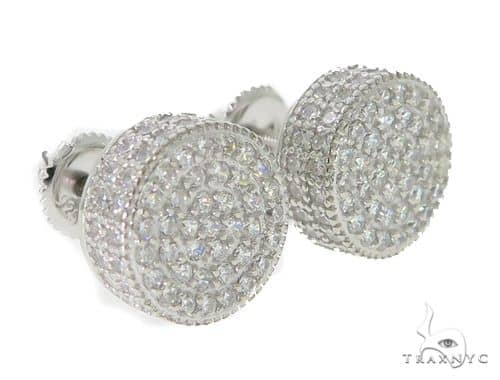 Silver Earrings 49890 Metal