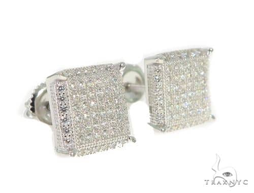 Silver Earrings 49906 Metal