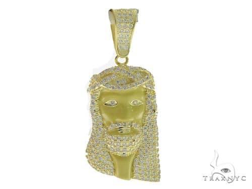 Jesus Silver Pendant 56425 Metal