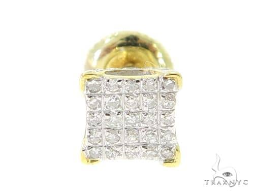 10K Gold Prong Diamond Single Earring 56775 Stone