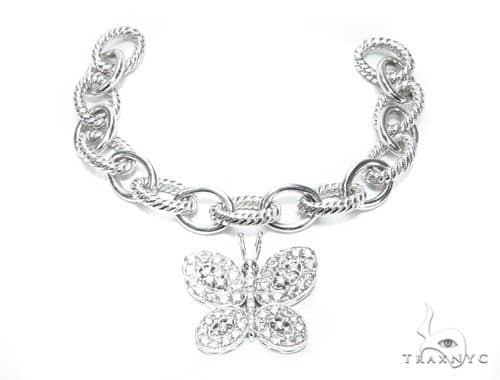 Custom Diamond Butterfly Bracelet 45621 Diamond