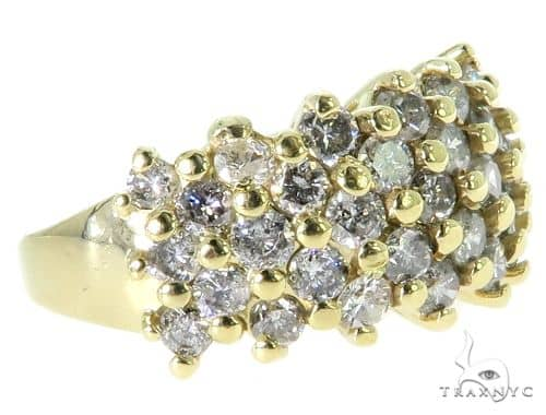 14K Yellow Gold Prong Diamond Ring 56939 Anniversary/Fashion