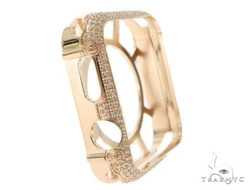iPhone Diamond Watch Case Rose 45624 Watch Accessories