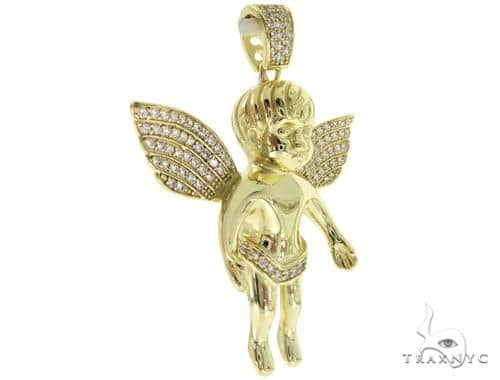 Silver Angel Pendant 57000 Metal