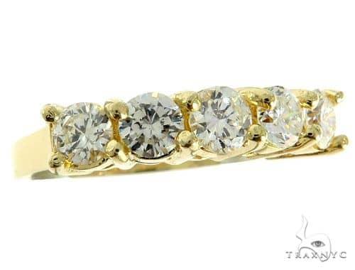 14K Yellow Gold Prong Diamond Engagement Ring 57192 Anniversary/Fashion