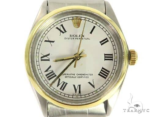 Pre-Owned Rolex Oyster Perpetual 57269 Diamond Rolex Watch Collection