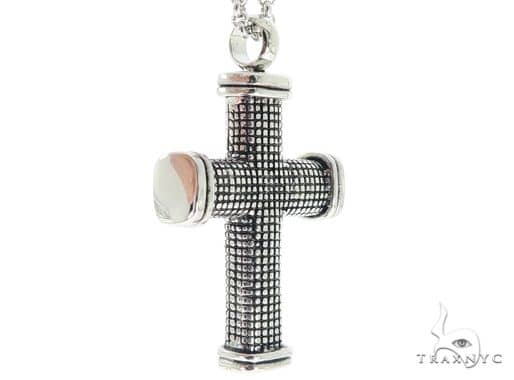 Stainless Steel Cross Chain Set 57585 Stainless Steel