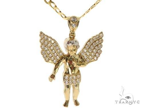 Angel Pendant Chain Set 58410 Style