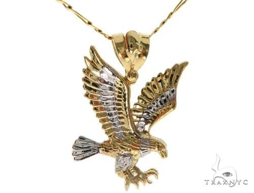 Eagle Pendant Chain Set 58411 Metal