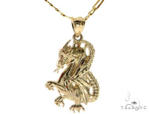 Dragon Pendant Set 58417 Metal
