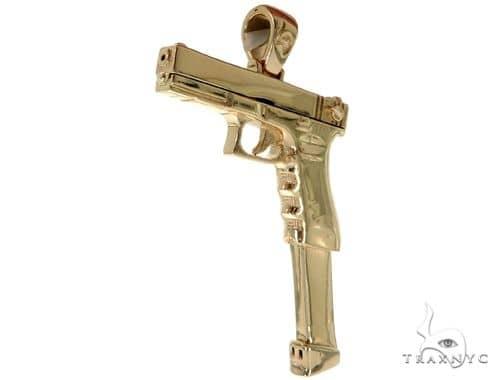 14k yellow gold gun pendant 58426 mens metal yellow gold 14k mens diamond jewelry mens pendants metal 14k yellow gold gun pendant 58426 aloadofball Gallery