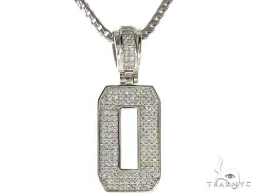 Cz silver initialo pendant 24 inches franco chain set 58483 mens mens diamond jewelry mens pendants metal cz silver initialo pendant 24 inches franco chain set 58483 aloadofball Choice Image