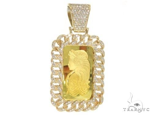 20 grams of 9999 gold bar with 14k gold diamond frame and bail mens diamond jewelry mens pendants metal 20 grams of 9999 gold bar with 14k gold diamond frame and bail suisse pendant 58585 aloadofball Image collections