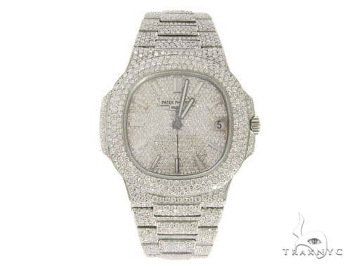 Patek Philippe Nautilus Diamond Stainless Steel Watch 58639 Special Watches