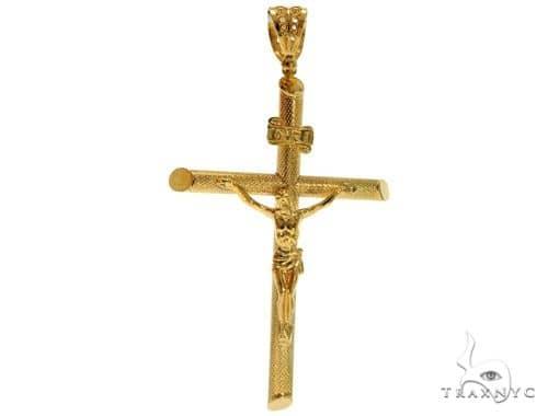 .925 Sterling Silver Crucifix 61486 Silver
