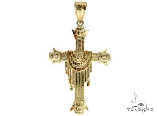 Cross and Cuban Chain Set 61550 Style