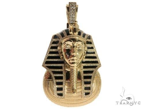 14k yellow gold prong bezel diamond pharaoh king tut pendant 63238 mens diamond jewelry mens pendants metal 14k yellow gold prong bezel diamond pharaoh king tut pendant 63238 aloadofball Gallery