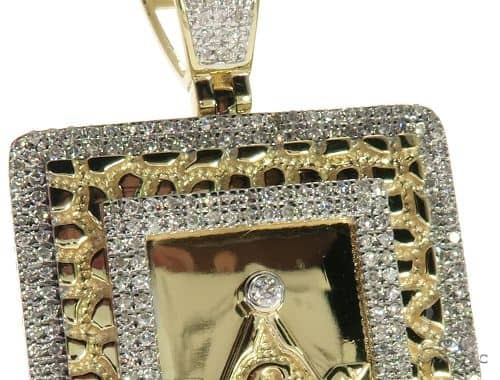 10k yellow gold micro pave diamond square and compasses masonic mens diamond jewelry mens pendants metal 10k yellow gold micro pave diamond square and compasses masonic symbols charm pendant 63300 aloadofball Image collections
