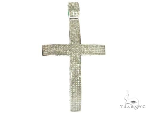 Invisible XL Elevated Princess Cross 63308 Diamond