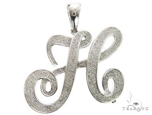 10k white gold micro pave diamond initial letter h pendant 63539 mens diamond jewelry mens pendants metal 10k white gold micro pave diamond initial letter h pendant 63539 aloadofball Images