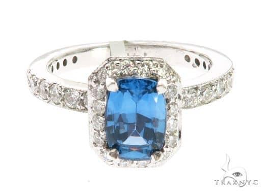 14K White Gold Prong Diamond Ring 63724 Anniversary/Fashion