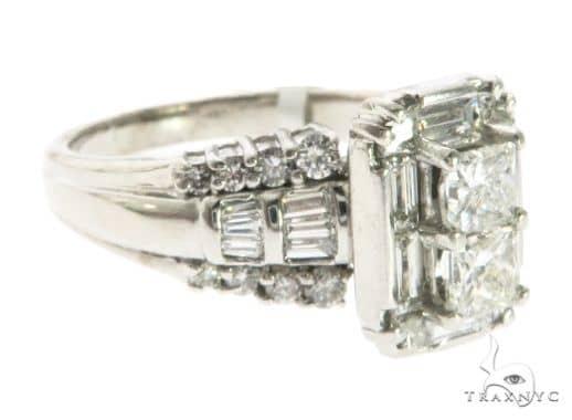 14K White Gold Ladies Prong Diamond Ring 63726 Anniversary/Fashion