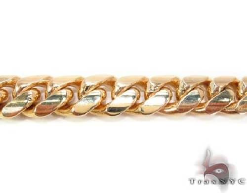 Miami Cuban Curb Link Chain 30 Inches 15.5mm 440.4 Grams 63736 Gold