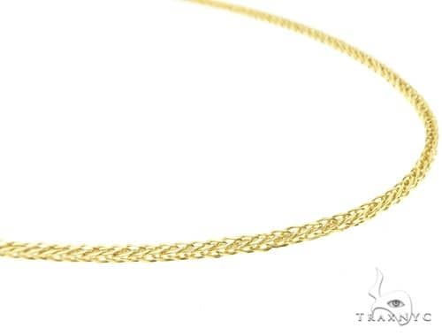 10K Yellow Gold Hollow Wheat Chain 18 Inches 1.70MM 3.1 Grams 63761 Gold