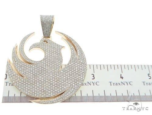 Custom made diamond pendant 63811 mens metal yellow gold 14k round mens diamond jewelry mens pendants metal custom made diamond pendant 63811 aloadofball Image collections