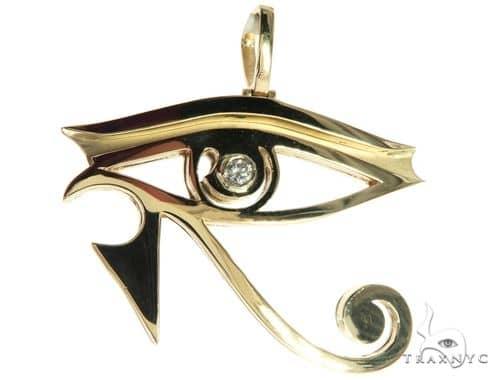 Custom made bezel diamond eye of horus pendant egyptian evil eye mens diamond jewelry mens pendants metal custom made bezel diamond eye of horus pendant egyptian evil eye 63812 mozeypictures Image collections