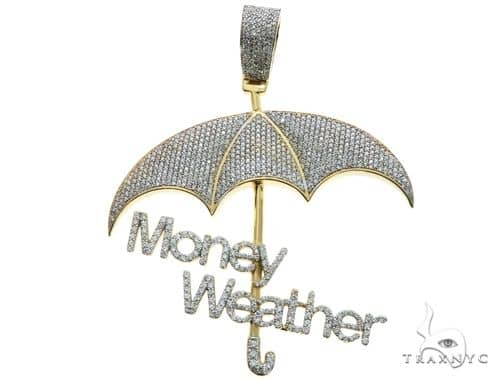 Custom made money weather umbrella diamond pendant 63882 mens metal mens diamond jewelry mens pendants metal custom made money weather umbrella diamond pendant 63882 aloadofball