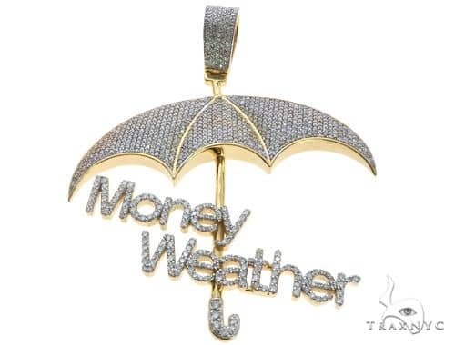 Custom made money weather umbrella diamond pendant 63882 mens metal mens diamond jewelry mens pendants metal custom made money weather umbrella diamond pendant 63882 aloadofball Images